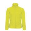 B&C-Micro-Fleece-Full-Zip-miesten-fleece-takki-pixel-lime