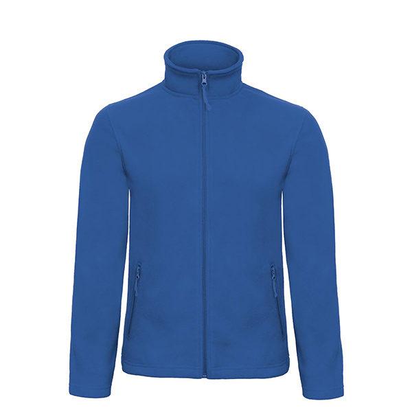 B&C-Micro-Fleece-Full-Zip-miesten-fleece-takki-royal-sininen