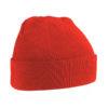 beechfield-original-cuffed-beanie-bright-red