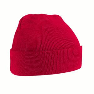 beechfield-junior-original-cuffed-beanie-classic-red