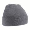 beechfield-original-cuffed-beanie-graphite-grey