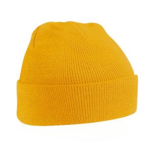 beechfield-original-cuffed-beanie-mustard