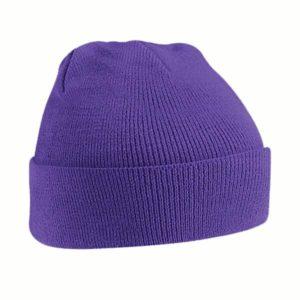 beechfield-original-cuffed-beanie-purple