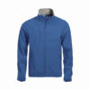clique-basic-softshell-jacket-miesten-softshell-takki-keskisininen