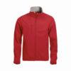 clique-basic-softshell-jacket-miesten-softshell-takki-punainen