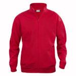 Clique-Cardigan-Junior-lasten-veroketjullinen-collegepusero-punainen