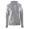 Craft-In-the-zone-Full-Zip-Hood-M-miesten-vetoketjullinen-huppari-grey-melange-white