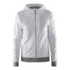 Craft-In-the-zone-Full-Zip-Hood-M-miesten-vetoketjullinen-huppari-white-platinum-grey-melange