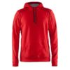 Craft-In-the-zone-Hood-F-miesten-huppari-bright-red-black-grey