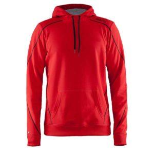 Craft-In-the-zone-Hood-F-miesten-huppari-bright-red-black-grey