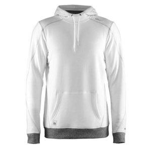 Craft-In-the-zone-Hood-F-miesten-huppari-white-platinum-grey-melange