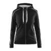 Craft-in-the-zone-Full-Zip-Hood-W-naisten-vetoketjullinen-huppari-black-white
