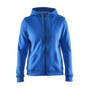 Craft-in-the-zone-Full-Zip-Hood-W-naisten-vetoketjullinen-huppari-view-gale-grey-melange