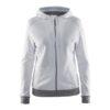Craft-in-the-zone-Full-Zip-Hood-W-naisten-vetoketjullinen-huppari-white-platinum-grey-melange
