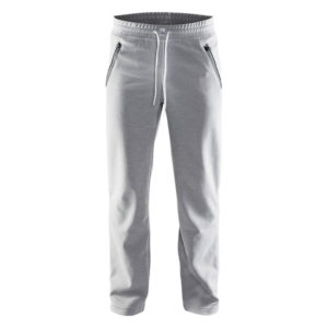 Craft-in-the-zone-M-Sweatpants-miesten-collegehousut-GreyMelange-White