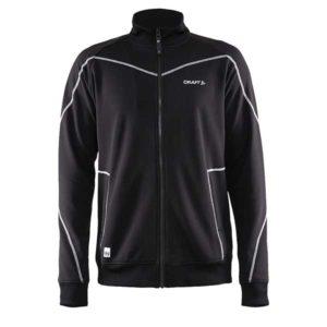 Craft-in-the-zone-Sweatshirt-M-miesten-vetoketjullinen-collegepaita-black