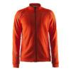 Craft-in-the-zone-Sweatshirt-M-miesten-vetoketjullinen-collegepaita-heat-gale