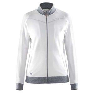 Craft-in-the-zone-Sweatshirt-W-naisten-vetoketjullinen-collegepaita-white-platinum-grey-melange