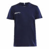 Craft-Squad-Jersey-Solid-F-lasten-urheilupaita-navy