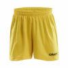 Craft-Squad-Short Solid-JR-lasten-treenishortsit-sweden-yellow