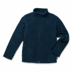 Stedman-ST5170-Kids-Active-Fleece-Jacket-Lasten-Fleece-takki-Blue-Midnight