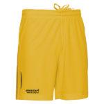 Panzeri-Dunk-H-koripallo-shortsit-keltainen