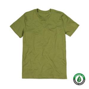 Stedman-ST9200-James-Organic-Crew-Neck-Luomu-puuvilla-t-paita-Earth-Green-vihreä