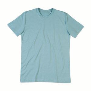 Stedman-ST9200-James-Organic-Crew-Neck-Luomu-puuvilla-t-paita-Frosted-blue-sininen