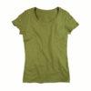 Stedman-ST9300-Janet-Organic-Crew-Neck-naisten-luomu-puuvilla-t-paita-Earth-green-vihreä