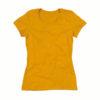 Stedman-ST9300-Janet-Organic-Crew-Neck-naisten-luomu-puuvilla-t-paita-Indian-yellow-keltainen