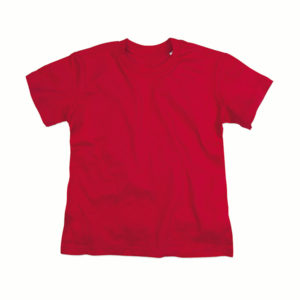 Stedman-ST9370-Jamie-Organic-Crew-Neck-Lasten-luomupuuvilla-t-paita-Pepper-Red-punainen