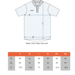 Teamshield-Essential-Men-Unisex-Sublimation-Polo-Shirt-Jersey-Custom-Print-Logo-Size-Chart