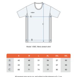 Teamshield-Essential-Men-Unisex-Sublimation-Shirt-Jersey-Custom-Print-Logo-Size-Chart