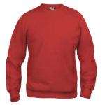 Clique-Basic-Roundneck-lasten-college-paita-punainen