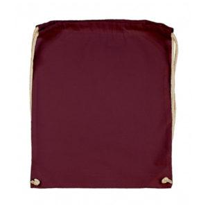 Cotton-Drawstring-Backbag-Puuvilla-Reppu-Burgundy