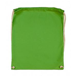 Cotton-Drawstring-Backbag-Puuvilla-Reppu-LightGreen