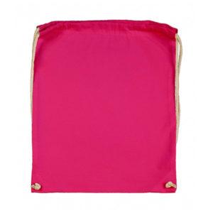 Cotton-Drawstring-Backbag-Puuvilla-Reppu-Magenta