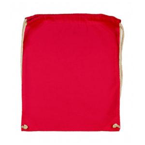 Cotton-Drawstring-Backbag-Puuvilla-Reppu-Red