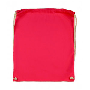 Cotton-Drawstring-Backbag-Puuvilla-Reppu-RougeRed
