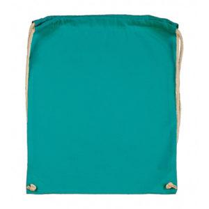 Cotton-Drawstring-Backbag-Puuvilla-Reppu-Turquoise