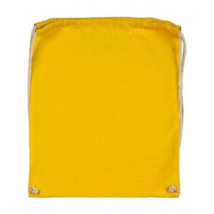 Cotton-Drawstring-Backbag-Puuvilla-Reppu-Yellow