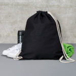 Cotton-Drawstring-Backbag-Puuvilla-Reppu-tuote-kuva