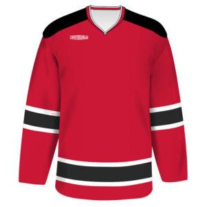 TEAMSHIELD-Essential-Hockey-Räälälöity-Sublimaatio-Painatus-Paita-Miehet-Unisex-Jääkiekko