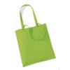 Westford-Mill-Bag-for-Life-Long-Handles-kangaskassi-Lime-Green
