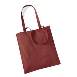 Westford-Mill-Bag-for-Life-Long-Handles-kangaskassi-Orange-Rust