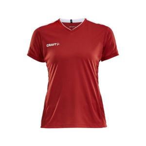 Craft PROGRESS Practise Tee Won-naisten tekninen paita-Bright Red