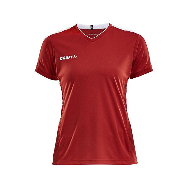 Craft PROGRESS Practise Tee Won-naisten tekninen paita-Bright Red