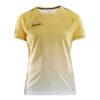 Craft-Pro-Control-Fade-Jersey-W-Naisten-Tekninen-Urheilupaita-Sweden-Yellow-White