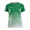 Craft-Pro-Control-Fade-Jersey-W-Naisten-Tekninen-Urheilupaita-Team-Green-White