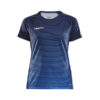 Craft Pro Control Stripe Jersey Women-Navy-Club Cobolt